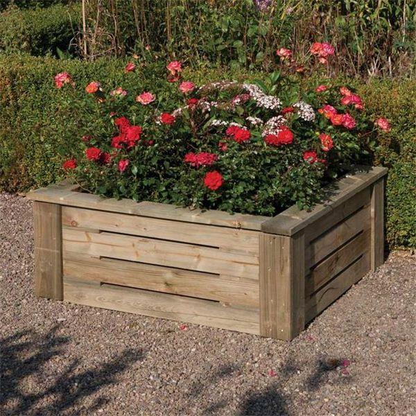 Rowlinson Raised Planter 3 x 3