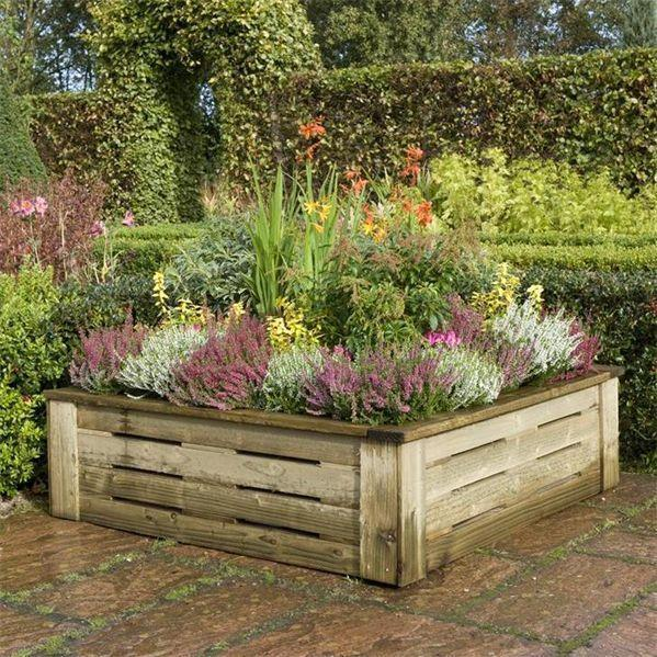 Rowlinson Raised Planter 4 x 4