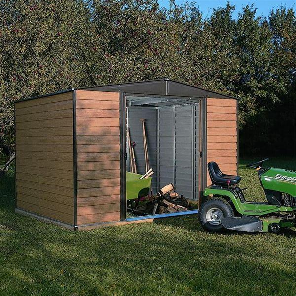Woodvale Metal Shed 10 x 8