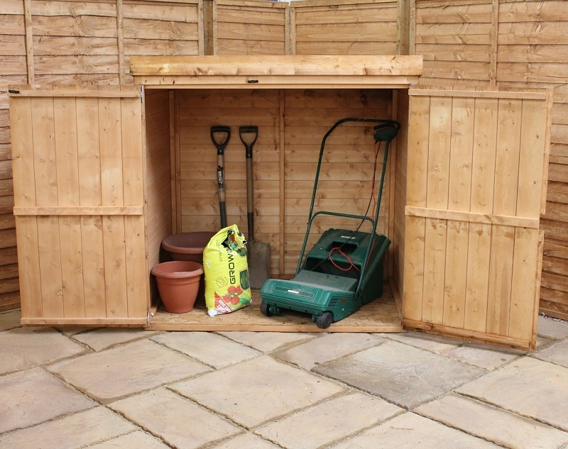 Mercia Pent Wooden Mower Store Garden Storage Unit