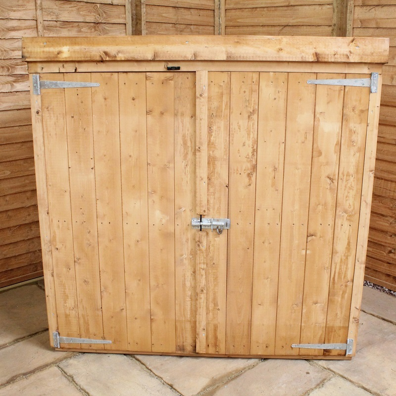 Mercia Pent Wooden Mower Store / Garden Storage Unit