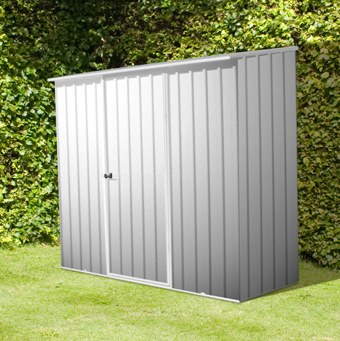 Mercia Space Saver Metal Shed 2.26m x 1.52m