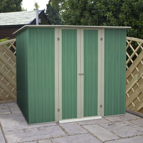 Buy metal sheds direct apex pent designs for sale for Garden shed 4 x 3