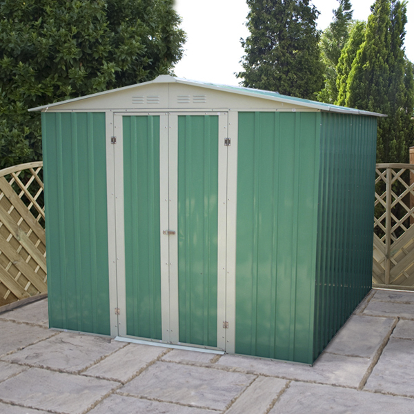 Mercia 6x7 Apex Metal Shed