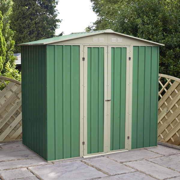 Mercia 8x6 Apex Metal Shed
