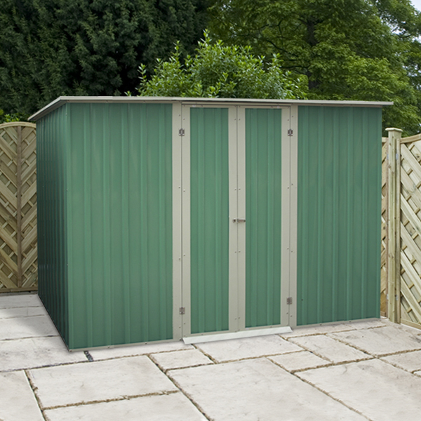 Mercia 10x6 Pent Metal Shed