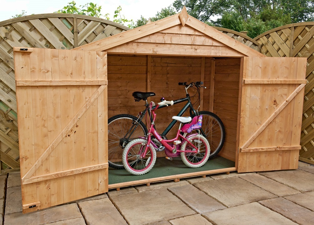 Mercia Overlap Bike Store / Timber Storage Shed