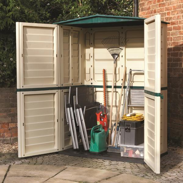 Buy Wooden, Metal & Plastic Storage Units - Garden Storage Online
