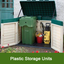 Plastic Garden Storage Units
